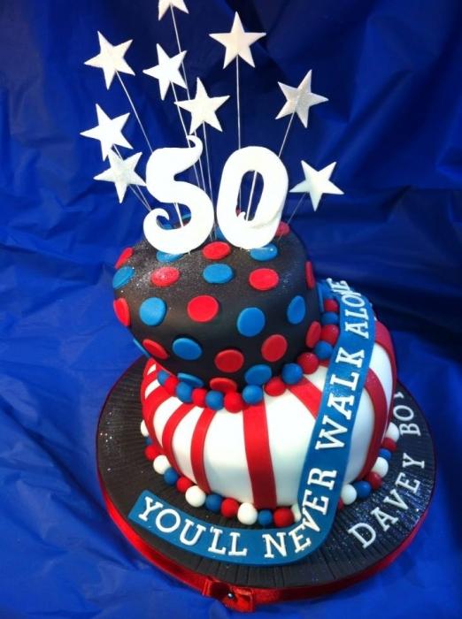 50th Birthday Cake For Him