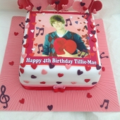 Picture of Justin Bieber Cake