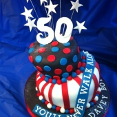 Picture of 50th Birthday Cake for Him