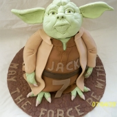 Picture of Yoda Cake