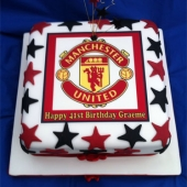 Picture of Man United Cake