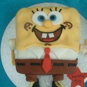 Picture of Spongebob Cake