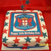 Picture of Carlisle United Cake