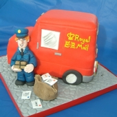 Picture of Postman Pat Cake
