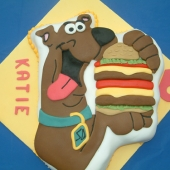 Picture of Scooby Doo Cake