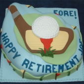 Picture of Golf Ball Cake