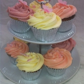 Picture of Pastel Butterfly Cupcakes