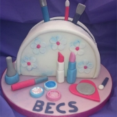 Picture of Make-Up Bag Cake