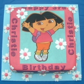 Picture of Dora Photo Cake