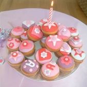 Picture of Birthday Cupcakes