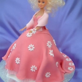 Picture of Pink Barbie Cake