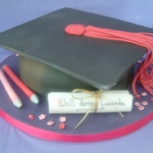 Picture of Graduation Cake