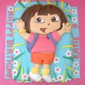 Picture of Dora the Explorer Cake