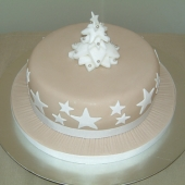 Picture of Christmas Tree Cake