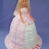 Picture of Lace Princess Doll Cake