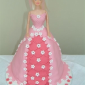 Picture of Flower Princess Doll Cake