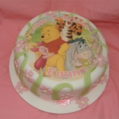 Picture of Winnie the Pooh Cake (Pink)