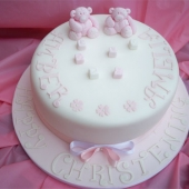 Picture of Twin Teddies Cake