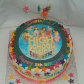 Picture of High School Musical Cake (Pink)