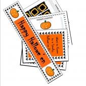 Picture of Halloween Party Printable Games & Ideas Kit