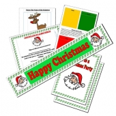 Picture of Christmas Printable Games & Ideas Kit