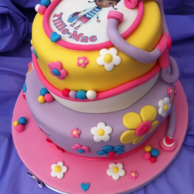 Picture of Doc McStuffins Cake