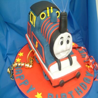 Picture of Thomas the Tank Cake