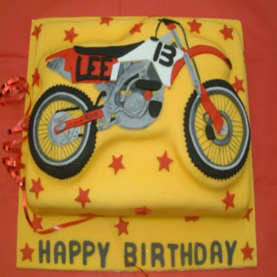 Picture of Motorcross Cake