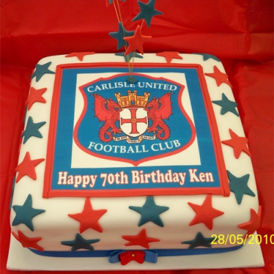 Picture of Carlisle United Cake