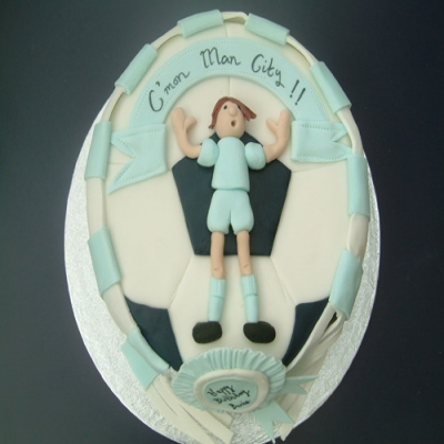 Picture of Football Fan Cake