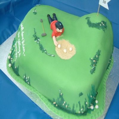 Picture of Golf Mad Cake