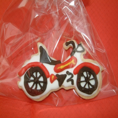 Picture of Motorbike Cookies