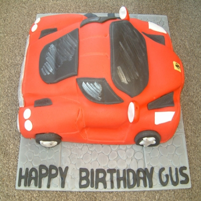 Picture of Sports Car Cake