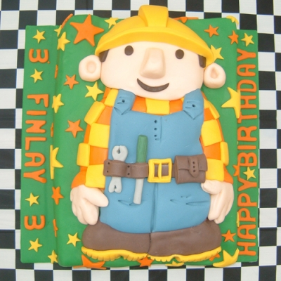 Picture of Bob the Builder Cake