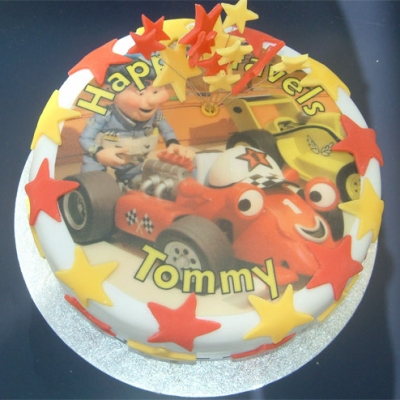 Picture of Roary The Racer Cake