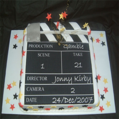 Picture of Clapperboard Cake