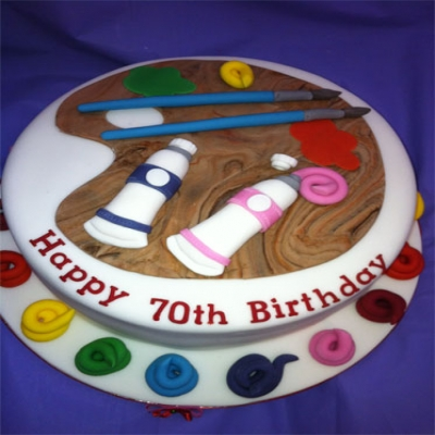 Picture of Artists Cake