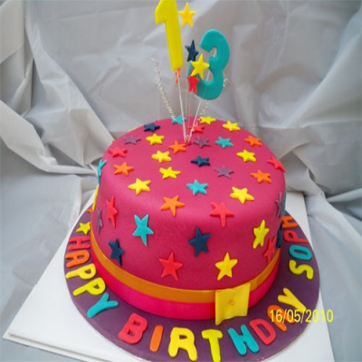 Picture of Bright Stars Cake
