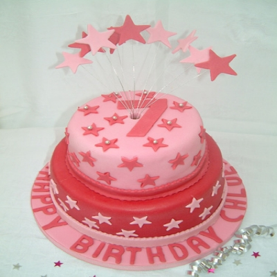 Picture of Disco Tier Cake