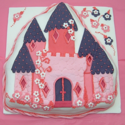 Picture of Princess Castle Cake