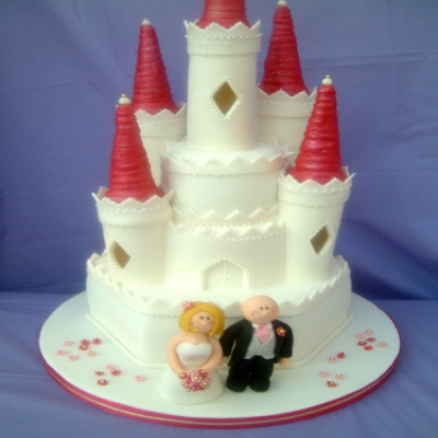 Picture of Fairy Castle Wedding Cake