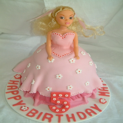 Picture of Pink Princess Doll Cake