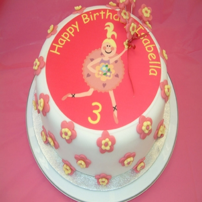 Picture of Ballerina Cake