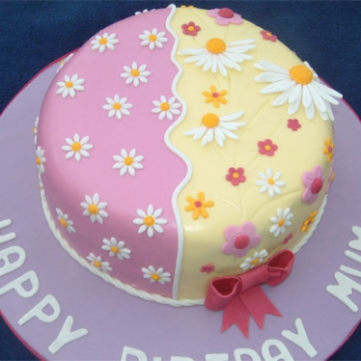 Picture of Pretty Flower Cake
