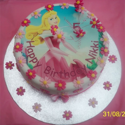 Picture of Princess Top Cake