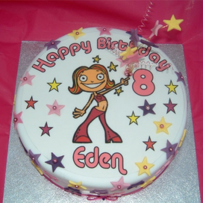 Picture of Disco Girl Cake