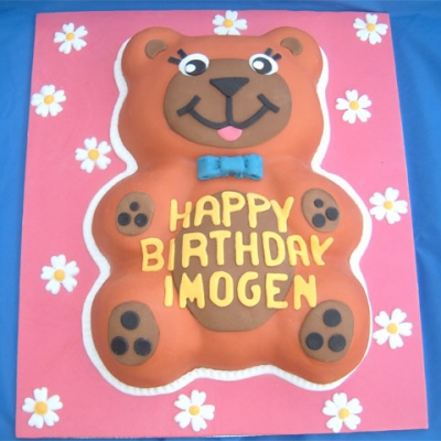 Picture of Ginger Teddy Cake