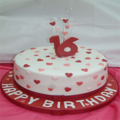 Picture of Sweet Sixteen Cake