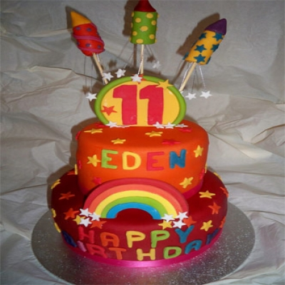 Picture of Firework Cake (Red)