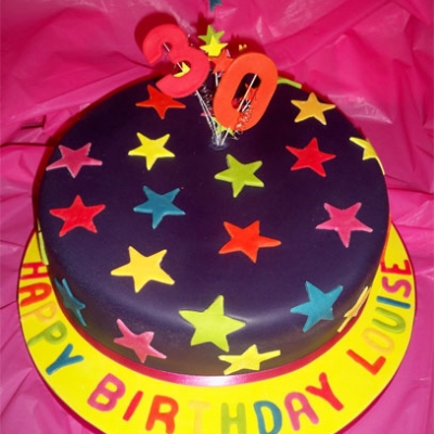 Picture of Star Fun Cake
